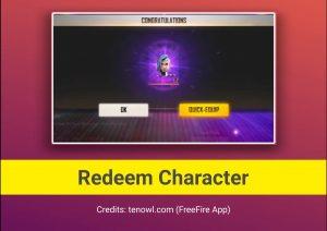 FreeFire FFCS Lvl.8 Card Redeem for free